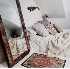Grayskymorning: maisy moon sleep space в 2019 г. home bedroom, bedroom deco My New Room, My Room, Deco Ethnic Chic, Boho Chic, Bohemian, Home Bedroom, Bedroom Decor, Bedroom Mirrors, Bedroom Ideas