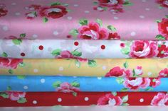 NEW Japanese Lecien FLOWER SUGAR Spring 2012 by sewdeerlyloved, $5.00