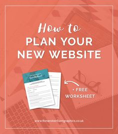 Planning is key to creating a successful website. Remove the hassle with this easy checklist to show you how to plan your website + grab your free worksheet so you can figure out exactly what you need from your new site.