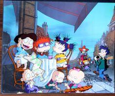Nickelodeon Rugrats In Paris The Movie Autographed Klasky & Csupo Animation Cel  | eBay