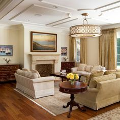 Ceiling Molding Design Ideas, Pictures, Remodel, and Decor