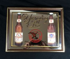 """Yuengling Beer Bar Mirror Sign Vintage Pub Man Cave 16"""" X 12"""" #yuengling…"""