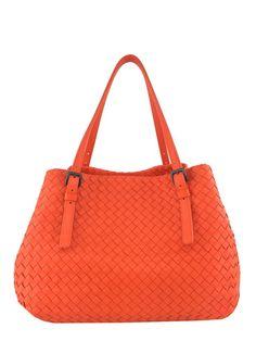 ccd14991af6 Bottega Veneta Intrecciato Medium A-Shaped Woven Tote Bag - Consigned  Designs