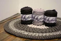 Sacocharte: Punto Puff Stitch en alfombras de ganchillo