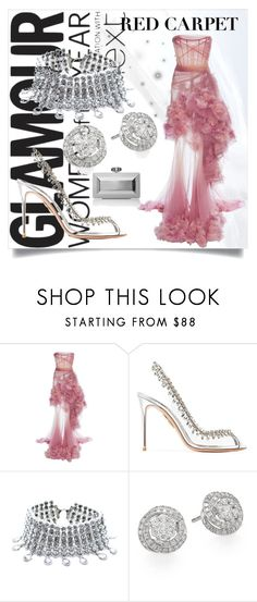 """""""Red Carpet"""" by tiffanyehuda on Polyvore featuring Goody, Marchesa, Aquazzura, Child Of Wild, Effy Jewelry and Judith Leiber"""