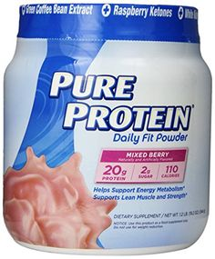 Pure Protein Daily Fit Powder, Mixed Berry, 1.2 Pound *** Want to know more, click on the image.