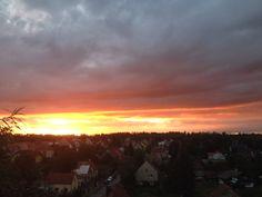 Jeden ze západů slunce