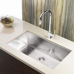 Blanco CLARON 700-U Steelart Elements Undermount Kitchen Sink