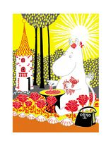 The Book about Moomin, Mymble and Little My - Tove Jansson Moomin Books, Moomin Shop, Illustration Noel, Tove Jansson, Square Art, Motif Floral, Little My, Little People, Illustrations Posters