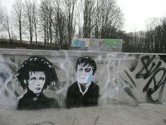 + info EDWARD SCISSORHANDS (1990) gallery http://www.streetartcinema.com/#!edwardscissorhands/cp9e   #streetartcinema #streetart #graffiti #stencil #urbanart #EdwardScissorhands #TimBurton #Johnny Depp #PaulFayt #cinema