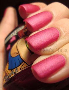 Lesbihonest Matte polish by Manglaze