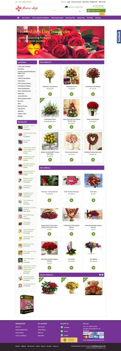 The #flower #shop #script is a bug free software script which will allow you to create your own flower business online and easily install it without any technical expertise. This software script comes with extremely comprehensible features like:  1.	Easy Admin Interface 2.	Multiple Images for each product 3.	Android App 4.	Newsletter Subscription for offering