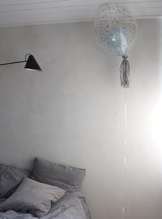 ilmapallo koristeena