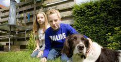 Nanouck, de hond van Olaf en Tessa van de Pavert liep zaterdag vermoedelijk een XTC-vergiftiging op.