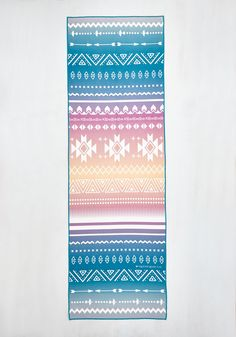 Just Pose to Show Yoga Towel in Southwestern. This bright yoga towel proves that pushing your limits can be a perfectly posh act! #multi #modcloth