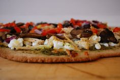 Health Conscious Momma: Oat Flour Thin Crust Pizza Dough