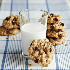 Kitchen Sink Oatmeal Cookies | CookingLight.com