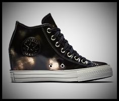 7bb0721216dc Converse Leather Chuck Taylor s with a hidden wedge Leather Chuck Taylors