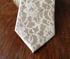 THEY OFFER THE TIE IN ANY COLOR AND THE LACE IN BLACK!!  Hey, I found this really awesome Etsy listing at https://www.etsy.com/listing/178572155/boudoir-lace-mens-necktie-silkscreen-100