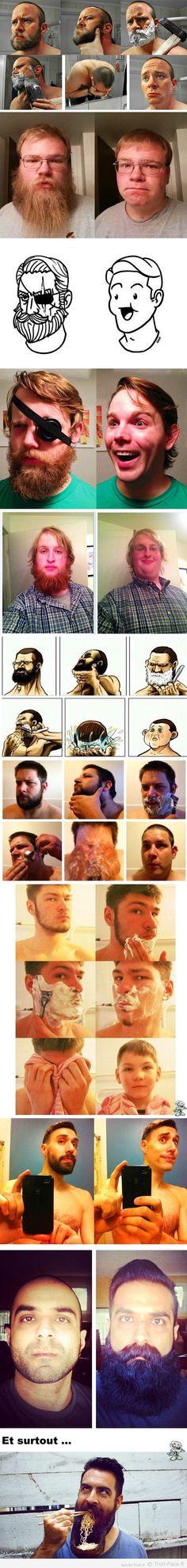 10 raisons pourquoi tu ne devrais jamais raser ta barbe