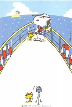 Can't wait to get out on the boat again! Snoopy and Woodstock Peanuts Snoopy, Peanuts Cartoon, Charlie Brown And Snoopy, Peanuts Movie, Snoopy Und Woodstock, Snoopy Love, Snoopy Comics, Meu Amigo Charlie Brown, Wallpaper Bonitos
