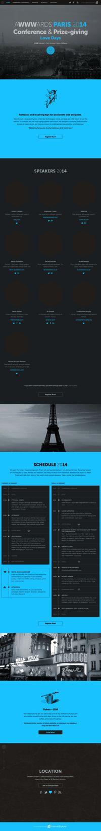 Awwwards Conference - Paris 2014