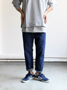 orSlow Standard 9oz Ankle Denim One Wash -ナイモノねだり