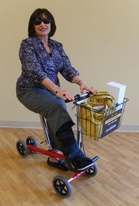 25 Best Knee Scooter Images On Pinterest Knee Scooter Crutch And