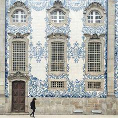 An intricate facade.