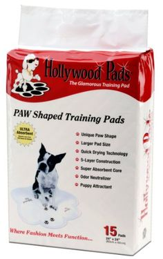 Hollywood Pads 15Pack Pet Training Pads 24 by 24Inch * Continue to the product at the image link.