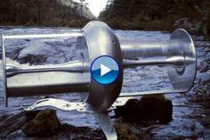 1e chalet au monde alimenté par une hydrolienne de rivière - Ecominute