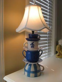 Tea Cup Lamp Tutorial Coming Soon !