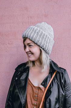 ISO CHUNKY BEANIE + 3 ERIKOKOISTA PÄÄTÄ - No Home Without You Beanie Hats For Women, Knitted Hats, Winter Hats, Knitting, Fashion, Moda, Tricot, Fashion Styles, Breien