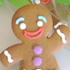 "Gingerbread Cookies Recipe  ""NOT THE GUMDROP BUTTONS!!"""