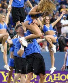 On the Way Down Cheerleader funnies