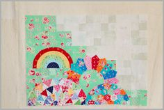 My Small World Quilt Along - Thoughts On Saving Your Green In Part 5 - The Littlest Thistle