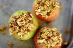 Clean Eating Baked Apples