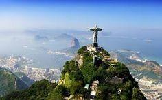 #2 THE CHRIST REDEEMER IS IN REO DE JANERIO, BRASIL.