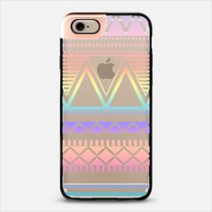 Cotton Candy Rainbow Tribal Transparent iPhone 6 Metaluxe Case by Organic Saturation | Casetify Get $10 off using code: 53ZPEA