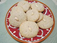 The Iraqi Family Cookbook: Almond Cookies-Louzina. لوزينة