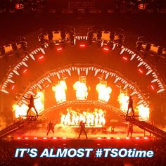 It's almost #TSOtime !!!