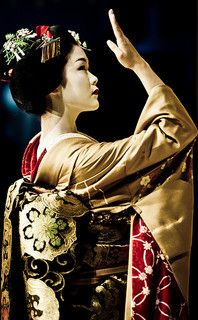 Maiko is an apprentice geisha in Western Japan, especially Kyoto.