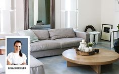 Lisa's tips for styling a coffee table
