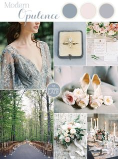 Modern Opulence - War and Peace Wedding Inspiration in Blue and Silver
