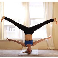 164 best headstand yoga images in 2018  yoga exercises