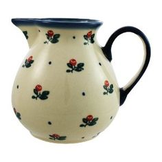 Polie Pottery hand decorated jug