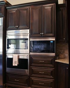 Brown Kitchen Cabinets | Pacifica Door Style | Kitchen Cabinet Kings - traditional - kitchen cabinets - new york - Kitchen Cabinet Kings