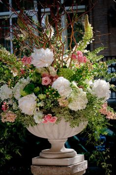 Flowers for the alter