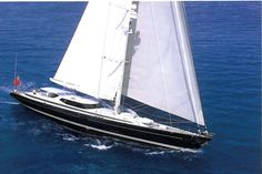 "View the latest images, news, price & similar yachts for charter to KOO. Beautifully built, S/Y KOO (ex 'Vent D'est') can be seen as a ""modern classic"" designed by Dubois and perhaps one of the best examples of Dutch boat building expertise. Ocean Sailing, Ocean Waves, Yacht For Sale, Boats For Sale, Viking Yachts, Best Yachts, Uss Constitution, Hms Victory, Boat Insurance"