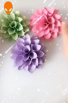 inspiration tutorials amazing videos paper craft part diy 12 9 12 Amazing Paper Craft Inspiration DIY Tutorials Videos Part 9 12 Amazing Paper Craft InspiratiYou can find Paper flower tutorial and more on our website Diy Crafts To Do, Paper Crafts For Kids, Upcycled Crafts, Diy Arts And Crafts, Paper Flowers Craft, Paper Crafts Origami, Flower Crafts, Diy Flowers, Flower Diy